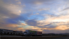 Atardecer Carretera 57 - SLP México 2008 8137 (Lucy Nieto) Tags: road sunset sky méxico sunrise way mexico atardecer camino carretera amanecer cielo sanluispotosí sanluispotos