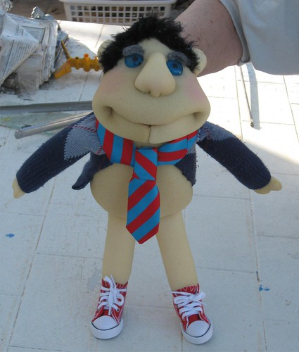 Custom made puppet