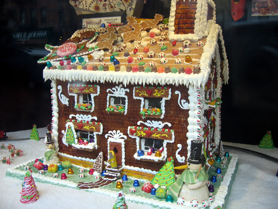 Gingerbread House (Click to enlarge)