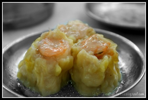 Siew mai with prawns