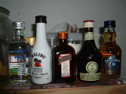 miniature liquor