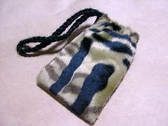 迷你豹紋暖暖袋