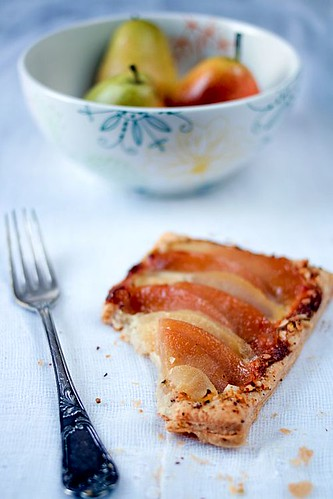 Poached Pear And Quince Tartelettes