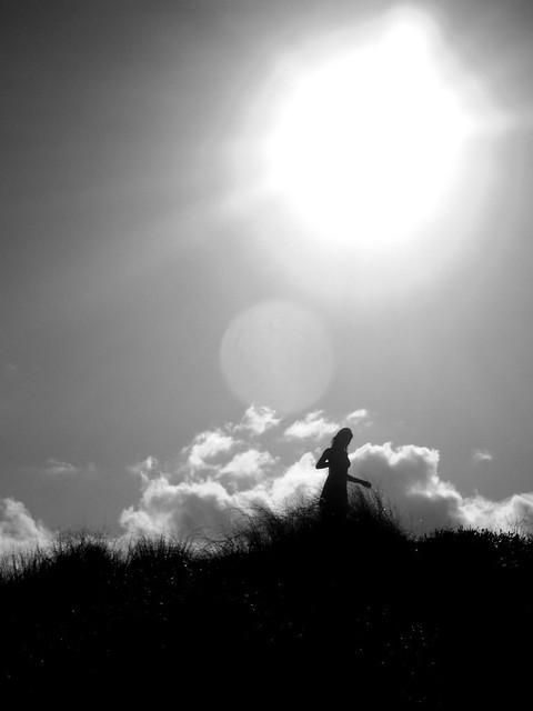 Amanda nas dunas