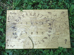 Haunted Forest Ouija Board (dragonoak) Tags: furniture witch ritual pagan dragonoak