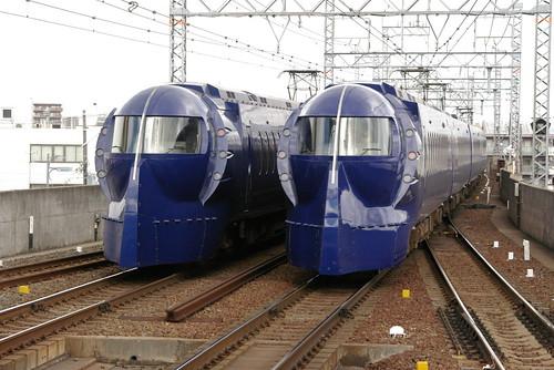 Nankai50000series in Kishiwada,Kishiwada,Osaka,Japan 2009/2/17