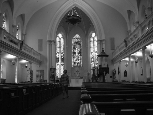 Empty church in Charleston.