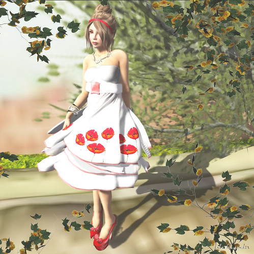 *LpD* - *I'm a Painted Dress* Red Long_002