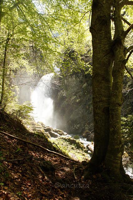 Cascata pis del pesio Piemonte