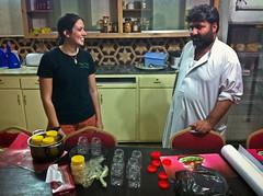Lou and Rana (peretzp) Tags: afghanistan taj honey poppy lou rana opium jars jalalabad nangahar tajmahalguesthouse jalalagood