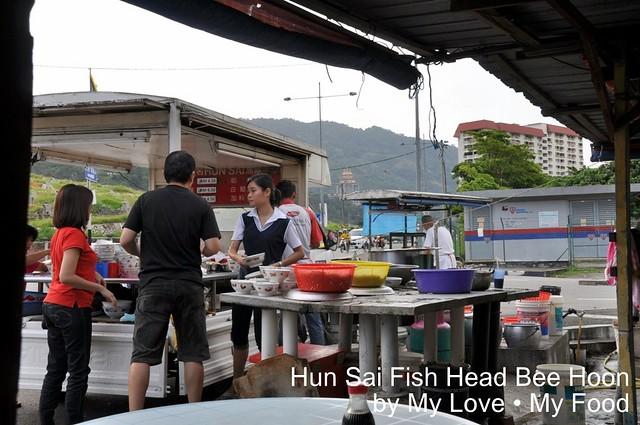 2011_06_05 Paya Terubong Fish Head Bee Hoon 001a