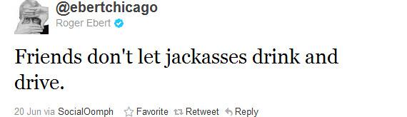 Roger Ebert tweet