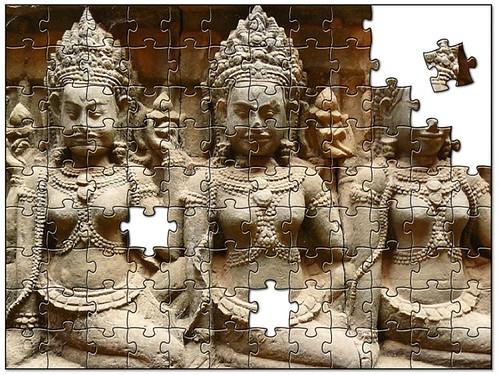 Puzzle Apsara 2008