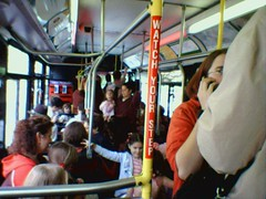 crowded bus in Portland (by: Jason McHuff, creative commons license)