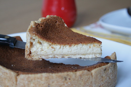 Découpage du cheesecake