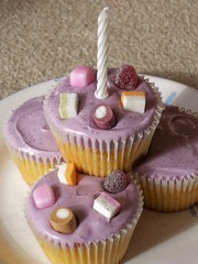 Lilac cakes!