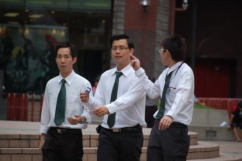 Salary man Singapore version