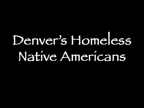 Homeless in Denver