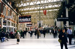 London Waterloo Station march 1999 (cepatri55) Tags: london station 1999 waterloo cepatri cepatri55