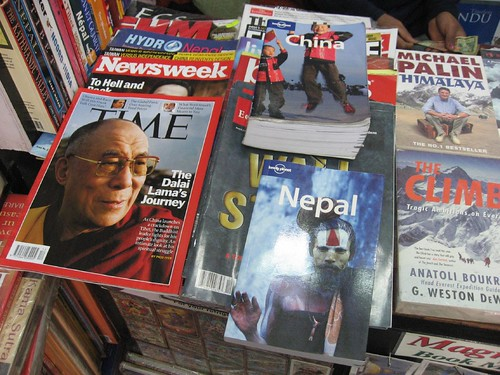 Trading my Lonely Planet China for Nepal