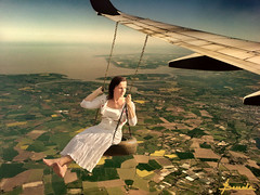 Fly high ... (Bessula) Tags: woman fun fly aircraft country swing land cubism iloveit artisticexpression greatphotographers justimagine outstandingshots flickrsbest fineartphotos mywinners abigfave anawesomeshot irresistiblebeauty megashot bessula proudshopper theperfectphotographer goldstaraward multimegashot 100commentgroup greatestphotographers