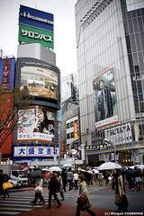 Shibuya @ Daytime (~Morgan) Tags: japan tokyo rainyday shibuya pluie daytime japon journe ©morgancugerone 200803301536472378