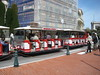 the Monte Carlo tourist train