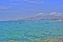 Blue (jmven) Tags: blue sea sky beach canon island rebel mar venezuela margarita isla hdr xti 400d mywinners