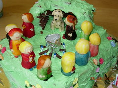 Birthday Cake - Witches Coven. Click to enlarge