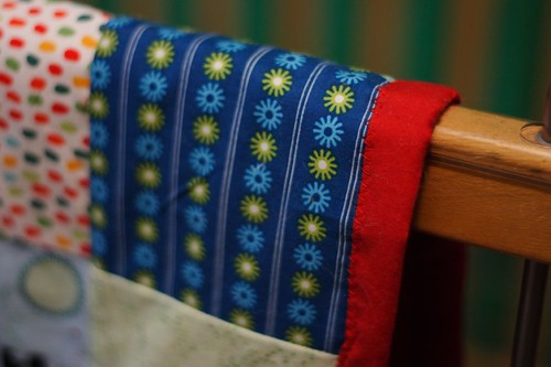 Crib quilt detail