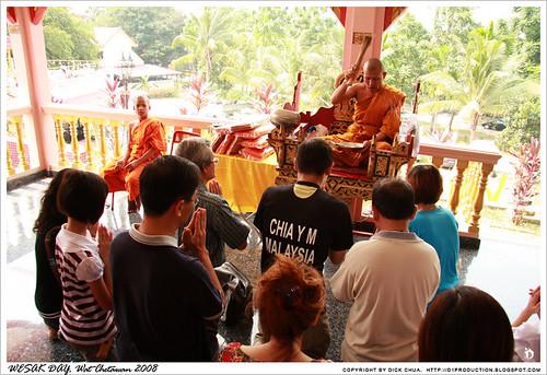 Wesak Day @ Wat Chetawan