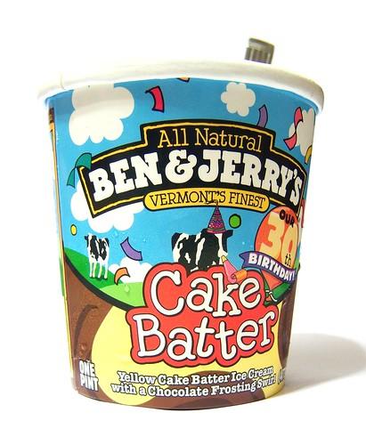 Ben Jerrys Cake Batter