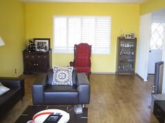 My New Phoenix House: Living Room 2 (alist) Tags: arizona house phoenix move alist arcadia robison alicerobison ajrobison