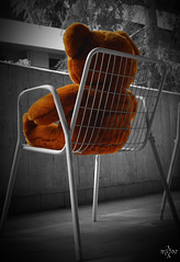 I_miss_U (syder.ross) Tags: bear brown love nikon loneliness d70s soledad amore pelouche peluche solitudine syderross