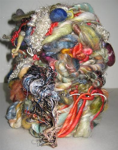 handspun by linda scharf/stoneleafmoon.com