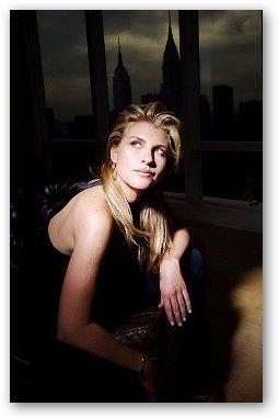 Bridget Nosivoccia with New York Skyline
