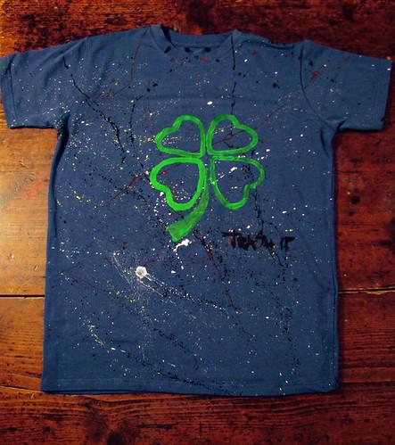 t-shirt quadrifoglio