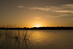 SUNSET AT HORDS CREEK LAKE IN TEXAS (Moments Captured In Time) Tags: sunset vacation sky orange sun lake hot color nature water beautiful wow landscape photography amazing flickr pretty texas sweet dusk sony awesome picture 101 stunning tones effect unedited waterscape paridise clods sonyalpha sonyalphadslra100 anawesomeshot jeanettehuston peachofashot photocontesttnc08 hordscreeklake