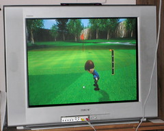 Wii played a little golf & Mario Kart