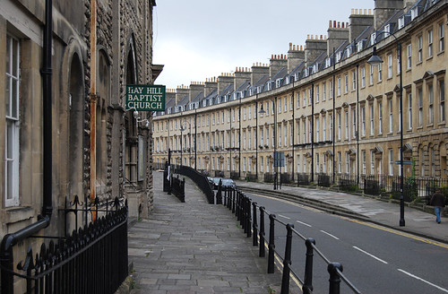 Bath street Johnny Depp has a house