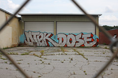 Dtek Dose (DTEK28) Tags: atlanta west graffiti wire end marta 28 barb msg tsc dose buk50 dtek
