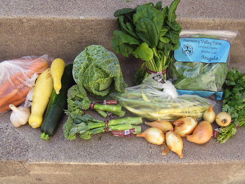 What's in CSA box #7