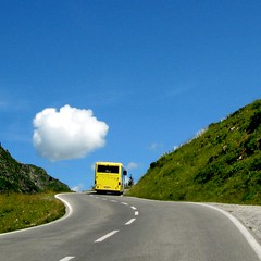 over the hills and far away (HanaS.) Tags: road blue bus austria colours autobus ledzeppelin nightwish unforgetable okno silvretta the thecarwindow pictures flickrcolour myphotobook colorphotoaward aplusphoto amazingshots citrit theunforgettablepictures platinumheartaward damniwishidtakenthat panoramafotogrfico dragondaggerphoto