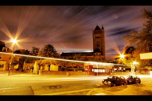 South Ealing, at night
