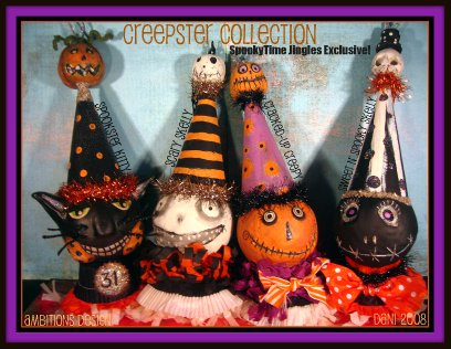 Creepster Collection of Ornaments STJ