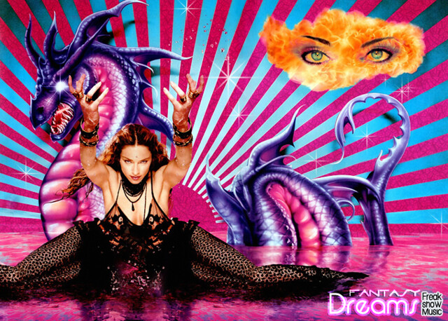 ??? Fantasy Dreams - Madonna !!! by M®s. FreakShowMusic
