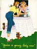 The best find of the day. (sparkleneely) Tags: vintage ephemera teen growingup menstruation estatesale august2008