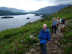Heading up to Walla Crag