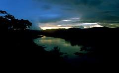 sunset on chagre river panama (yuval tzfira) Tags: flowers panorama flores nature beauty birds rio israel natural selva jungle panama yuval  tzfira  yuvaltzfira  yuvaltz chagre riochagre