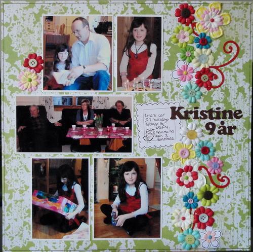 Kristine 9 år
